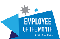 Qian Chao, Employee of the Month - Oct., 2017